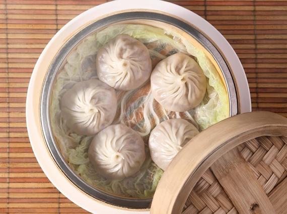 Steamed Shanghainese Meat Dumplings