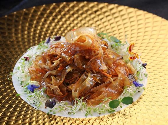 Stir-Fried Flat Glass Noodles